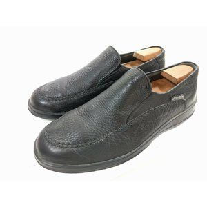 Mephisto Mens Black Slip On Shoes Loafers Size 10